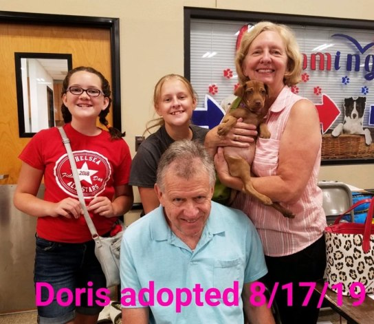 Doris adopted