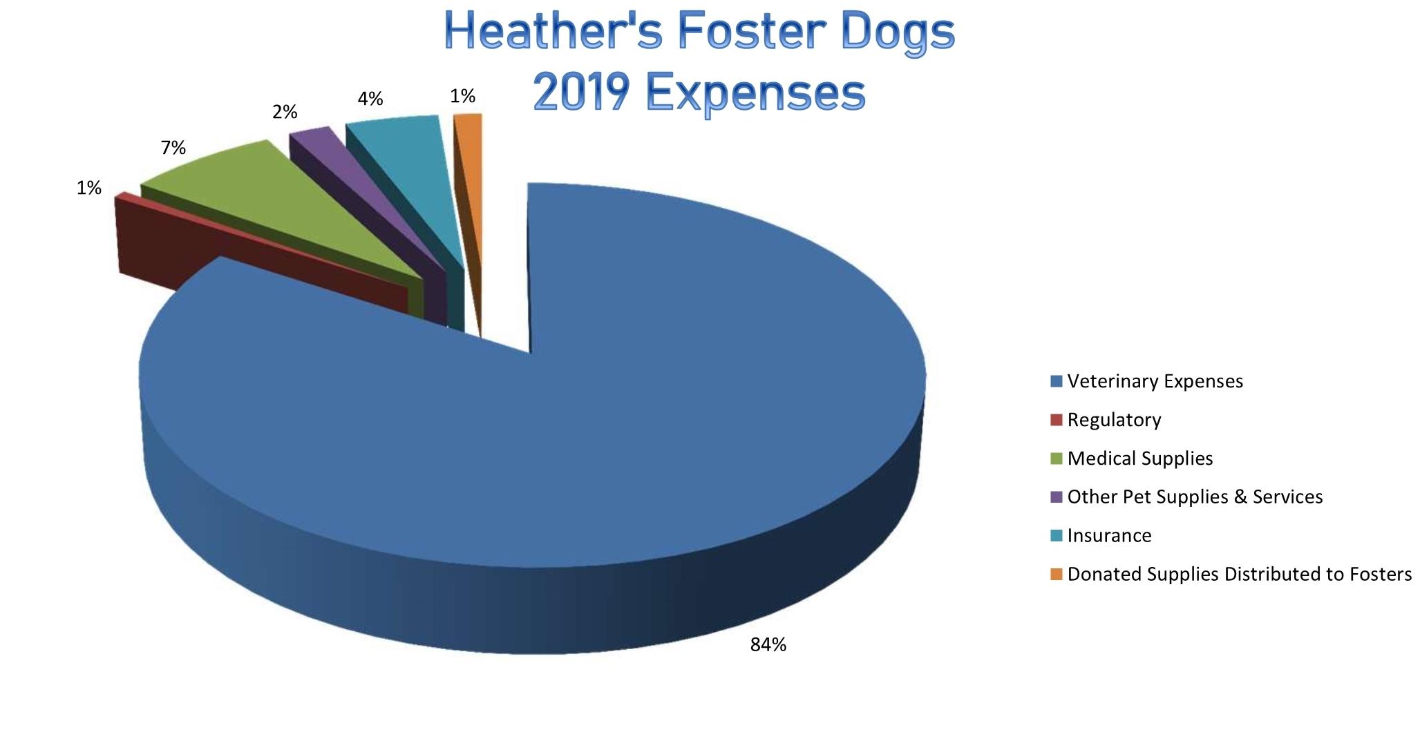HFD 2019 Expenses